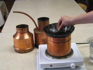 LEONARDO® Classic Aromakorb einsetzen